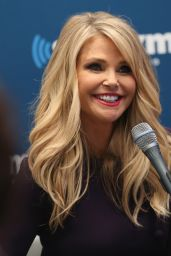 Christie Brinkley at SiriusXM Studios in New York City, November 2015
