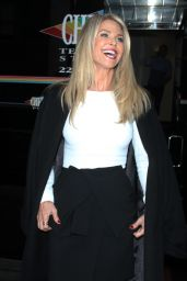 Christie Brinkley - Wendy Williams Show Promoting Her New Book Timeless Beauty in NYC