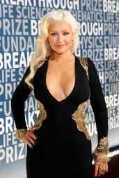Christina Aguilera - 2016 Breakthrough Prize Ceremony in Mountain View