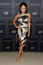 Christina Milian - Balmain x H&M Los Angeles VIP Pre-Launch in West Hollywood