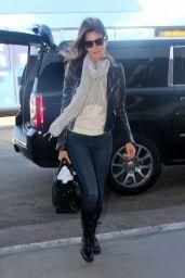 Cindy Crawford at LAX Airport, November 2015