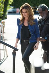 Cindy Crawford - On the Set of