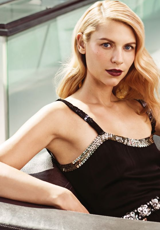 Claire Danes - Allure Magazine December 2015 Issue