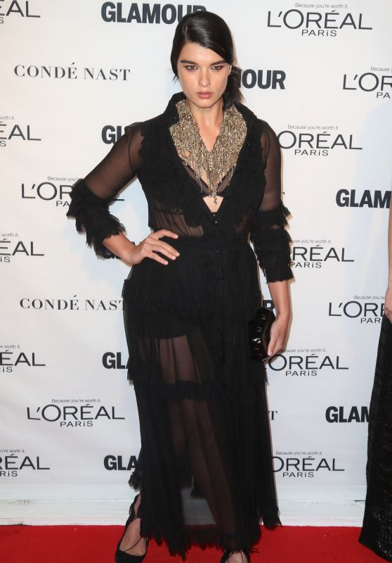 Crystal Renn – 2015 Glamour Women Of The Year Awards at Carnegie Hall in New York