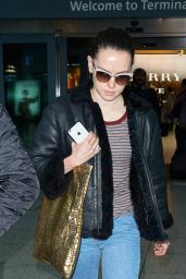 Daisy Ridley - Arriving at Heathrow Airport, London, November 2015