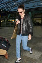 Daisy Ridley - Arriving at Heathrow Airport, London, November 2015