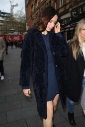 Daisy Ridley - Heading to Global Radio Headquarters in London, November 2015