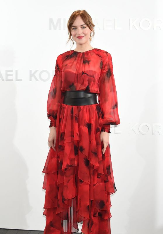 Dakota Johnson - Michael Kors Ginza Flagship Store in Tokyo, November 2015