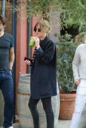 Dakota Johnson Street Style - Out in LA, November 2015