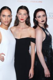 Dalianah Arekion, Stephanie Joy Field, Esmeralda Seay Reynolds & Julia Fleming - Christopher & Dana Reeve Foundation 25th Anniversary 'A Magical Evening' Gala in NYC