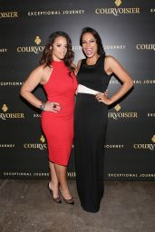 Dascha Polanco & Rosario Dawson - Courvoisier Cognac's 'Exceptional Journey' Event, November 2015