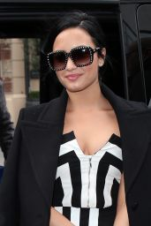 Demi Lovato - BBC Radio One Studios in London, November 2015