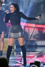 Demi Lovato -Performs at Swedish Idol, November 2015