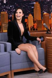 Demi Lovato - The Tonight Show in New York City, October 2015