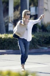 Denise Richards Street Style - Out in Malibu, November 2015