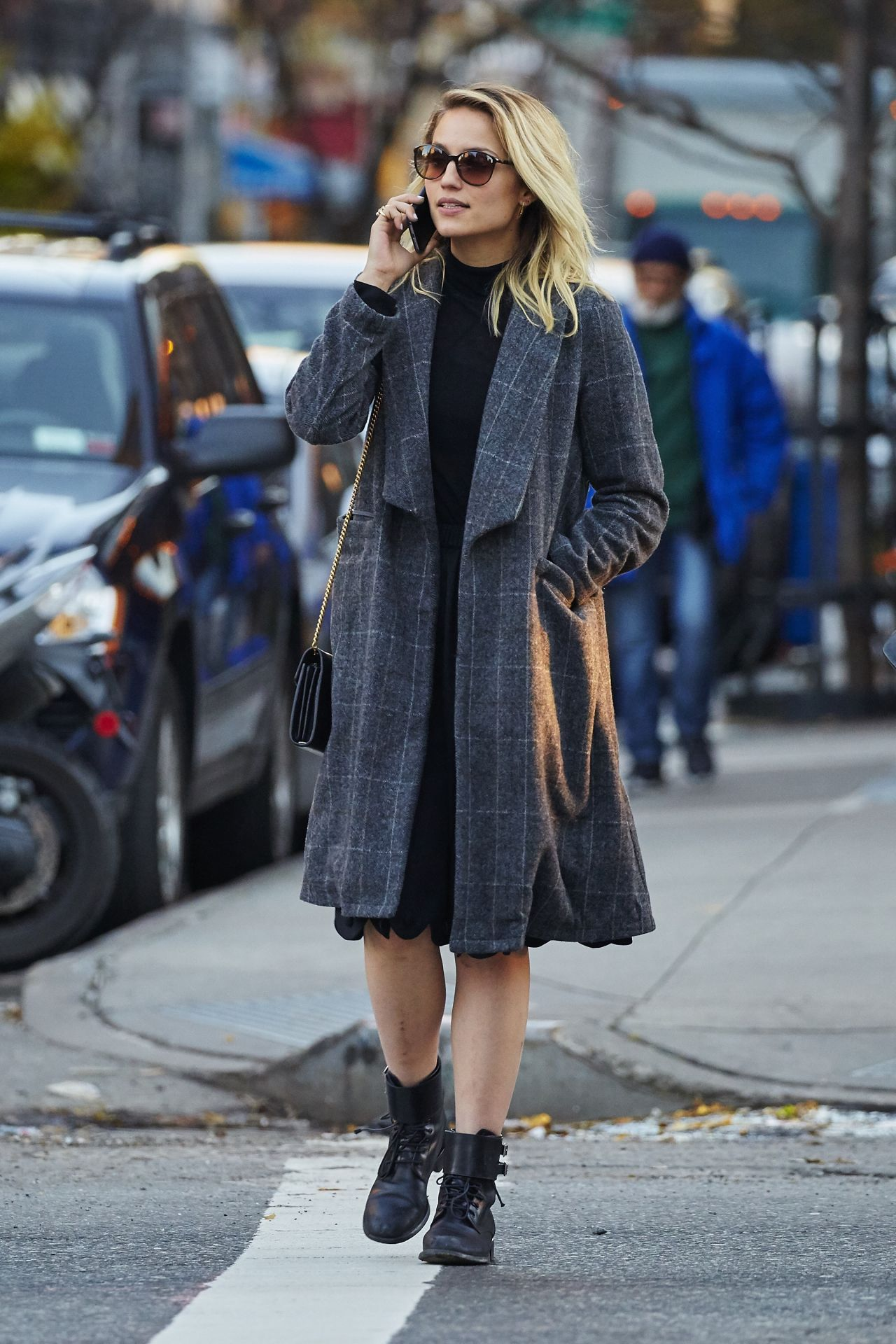 Watch Dianna agron out in new york city video
