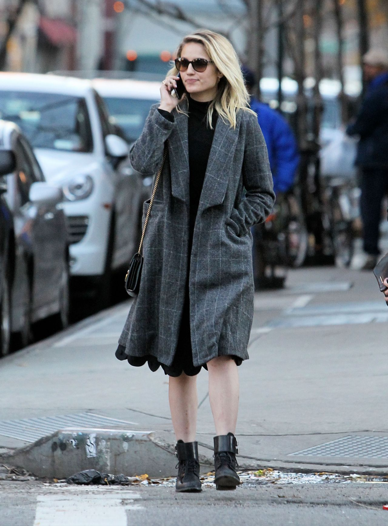 Dianna Agron Autumn Style Out In New York City 11 20 2015