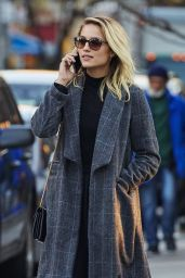 Dianna Agron Autumn Style - Out in New York City, 11/20/2015