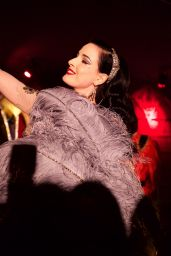 Dita Von Teese - Raspoutine 50th Anniversary Party in Paris