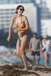 Eiza Gonzalez in a Bikini on Miami Beach, November 2015