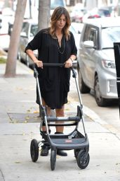 Elisabetta Canalis Street Style - Out in Los Angeles, October 2015