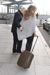 Elizabeth Hurley - Arriving Back at Heathrow Airport in London, 11/18/2015