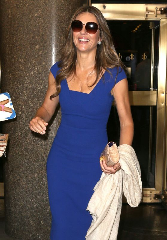 Elizabeth Hurley - at the Today Show in NYC, November 2015