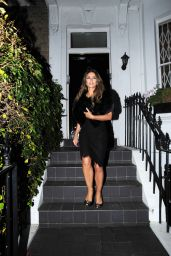 Elizabeth Hurley Style - Out in London, November 2015