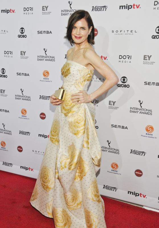 Elizabeth McGovern - 2015 International Emmy Awards at the New York Hilton