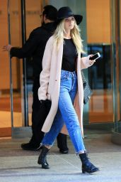 Elsa Hosk - Out in New York City, November 2015