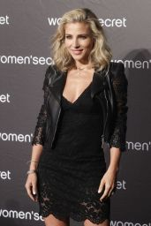 Elsa Pataky - Presents Her First Music Video for Women Secret at Riviera Club in Madrid