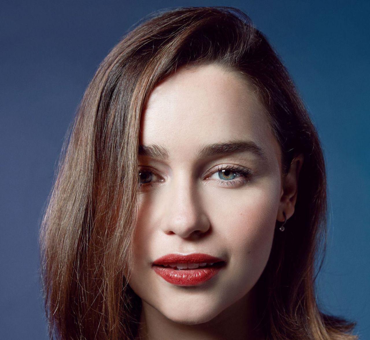 Emilia Clarke - Photoshoot The Wrap Magazine November 2015 ...