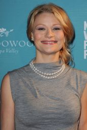 Emilie De Ravin at the Napa Valley Film Festival in Yountville, November 2015