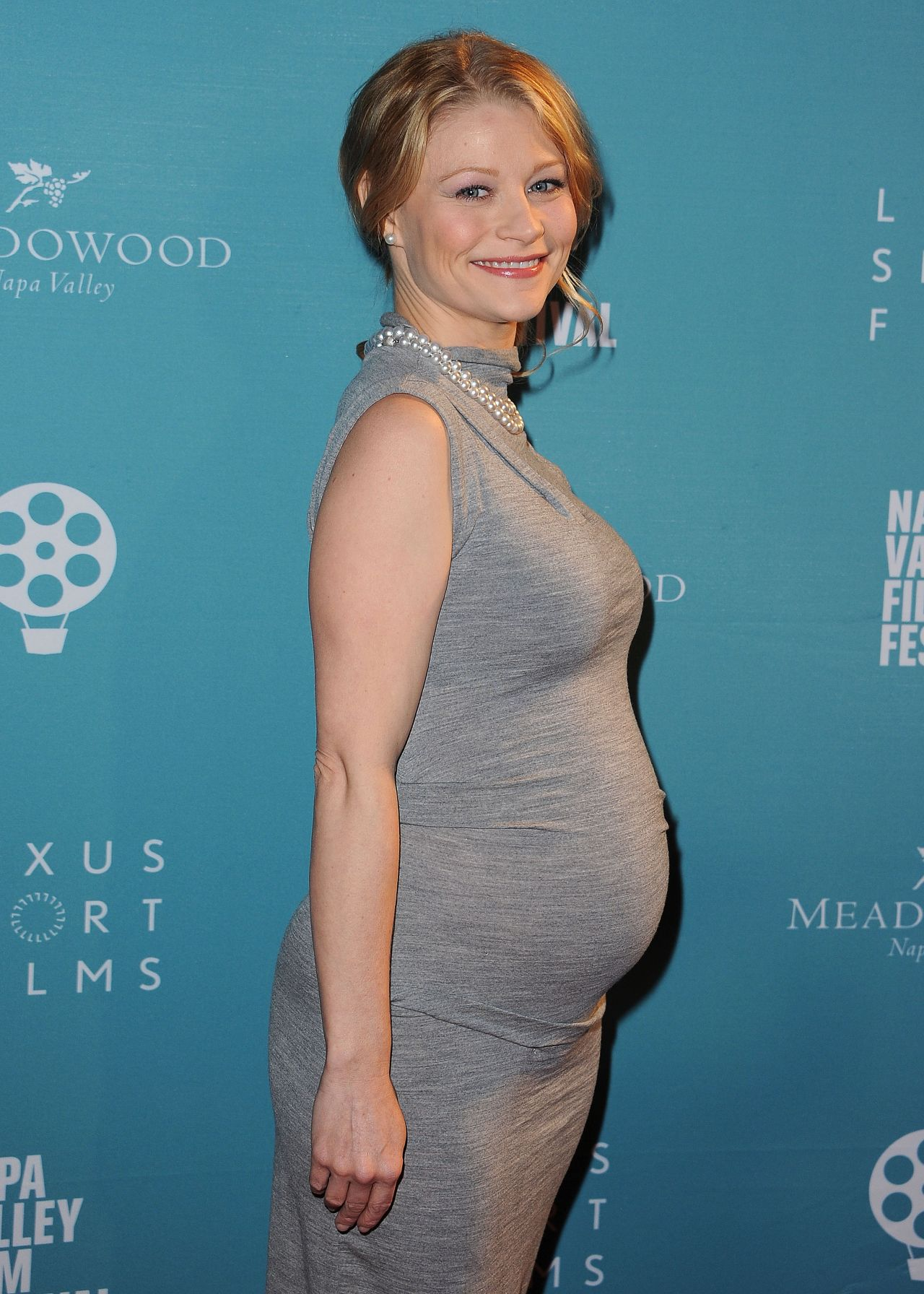 Emilie De Ravin at the Napa Valley Film Festival in ...