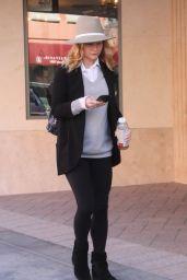 Emilie De Ravin - Shopping in Beverly Hills, November 2015