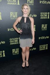 Emily Bett Rickards - HFPA and InStyle Celebrate The 2016 Golden Globe Award Season in West Hollywood