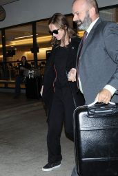Emily Blunt at LAX, November 2015