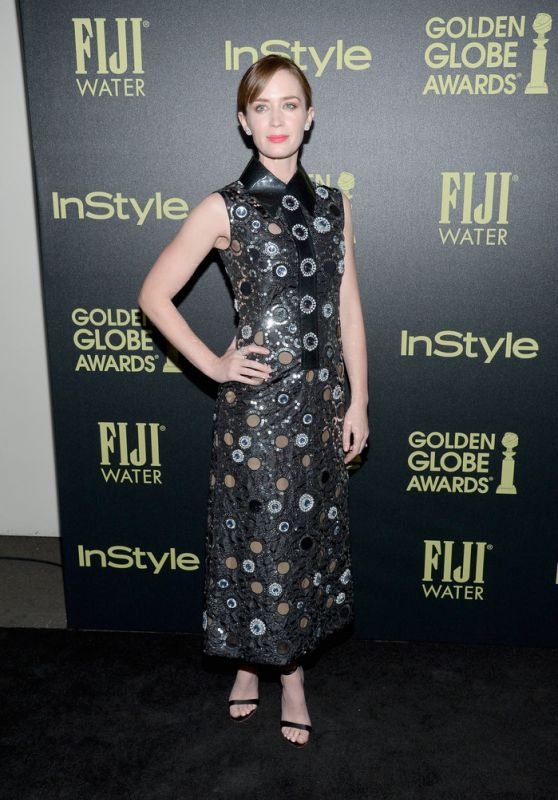 Emily Blunt - HFPA And InStyle Celebrate The 2016 Golden Globe Award Season in West Hollywood