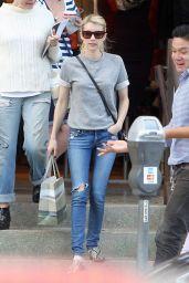 Emma Roberts - Shopping in Los Angeles, November 2015