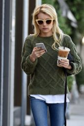 Emma Roberts Street Style - Out in LA, November 2015