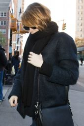 Emma Stone Autumn Style -  New York City, November 2015