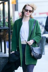 Emma Stone Style - Out in NYC, November 2015