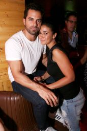 Emmanuelle Chriqui at Rec Room Club in Miami Beach, November 2015