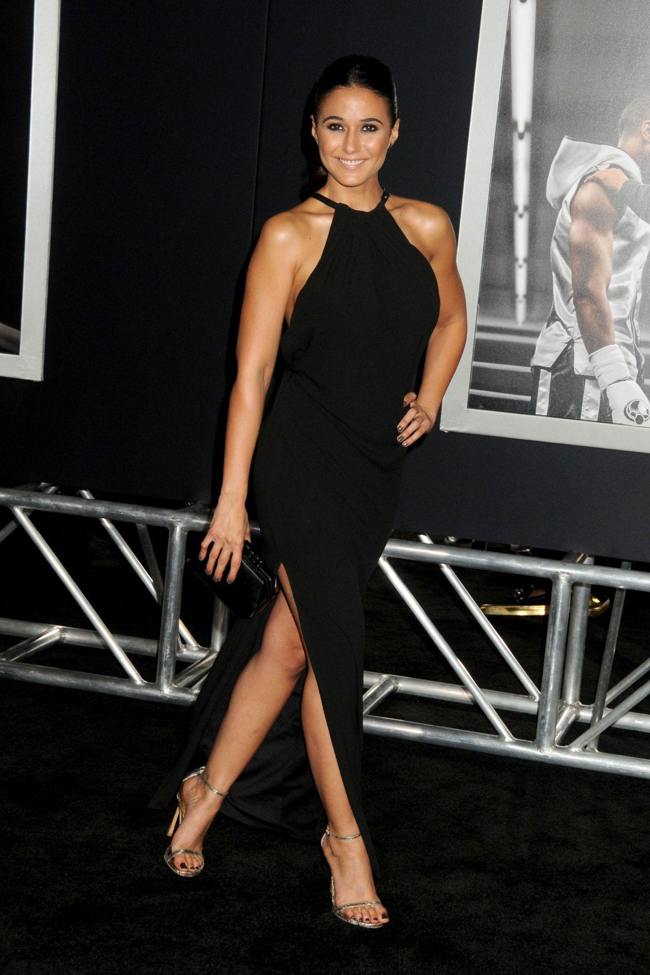 Emmanuelle Chriqui Creed Premiere In Westwood