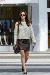 Emmy Rossum Casual Style - Out in Brentwood, November 2015