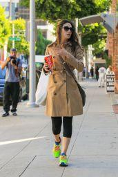 Emmy Rossum Street Style - Beverly Hills, November 2015