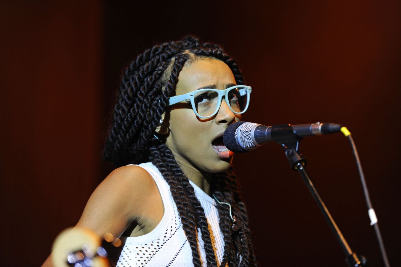 Esperanza Spalding Performing Shepherd Bush Empire
