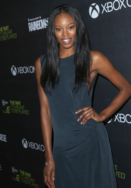 Eugena Washington – Ubisoft's 'Rainbow Six Siege' Launch Party in Los Angeles