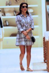 Eva Longoria - Shopping at Bal Harbour - November 2015