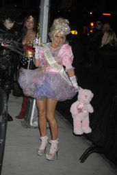 Fergie – Arriving the Heidi Klum's 12th Annual Halloween Party at Penthous in New York City